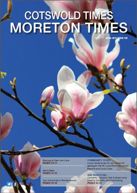Front page of Moreton Times - April 2015