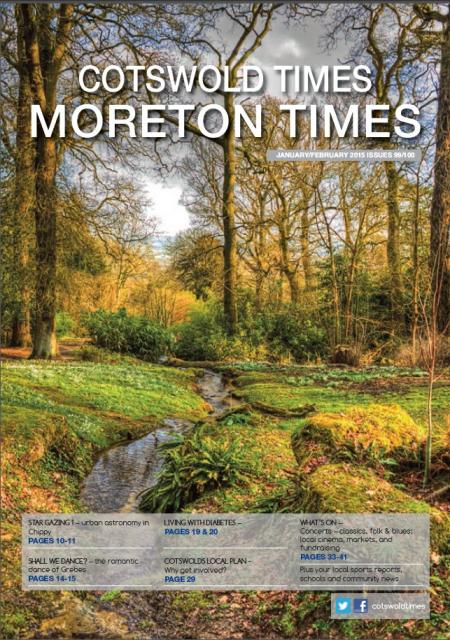 Front page of Moreton Times - January-February 2015
