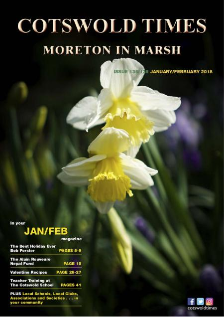Front page of Moreton Times - January-February 2018