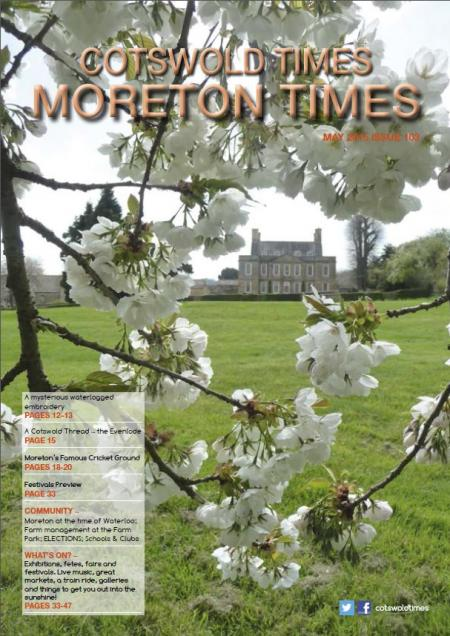 Front page of Moreton Times - May 2015